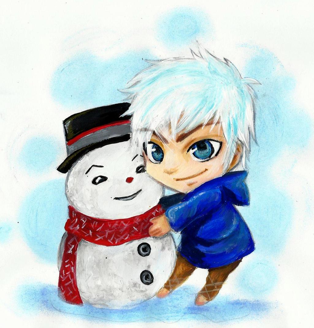 Chibi Jack Frost by Loveless-Ryko