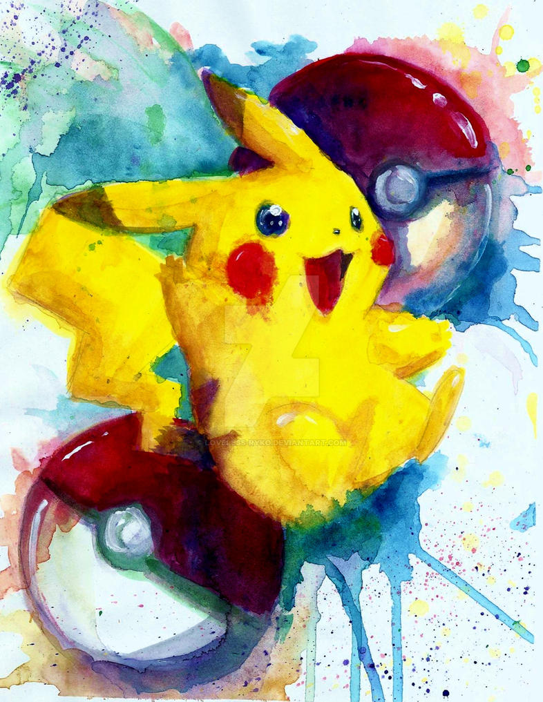 Pikachu by Loveless-Ryko