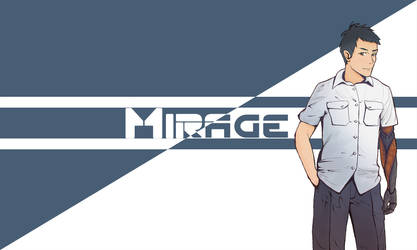 Mirage Prosthetic - Character Design