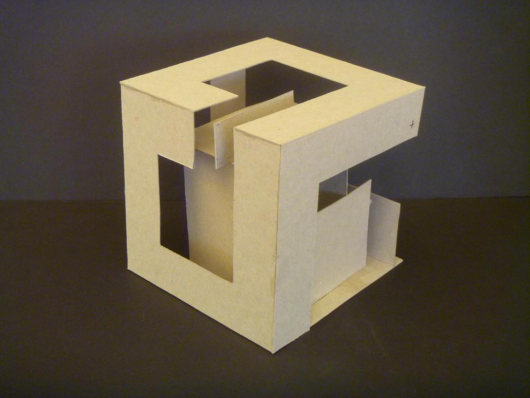 planar implied cube study model 5 by samongi on deviantart. Black Bedroom Furniture Sets. Home Design Ideas
