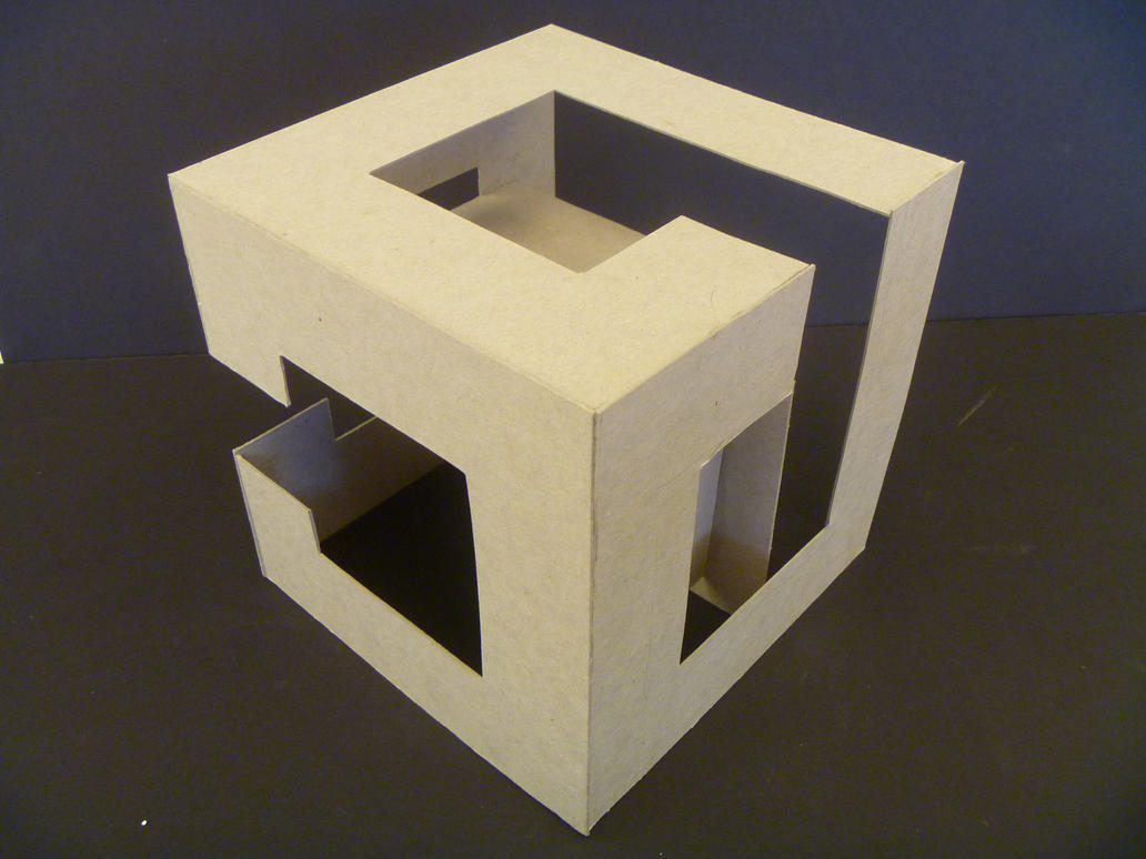planar implied cube study model 7 by samongi on deviantart. Black Bedroom Furniture Sets. Home Design Ideas