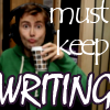 Icon: keep writing. by EmonyJade