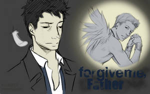 Wallpaper: Forgive Me. by EmonyJade