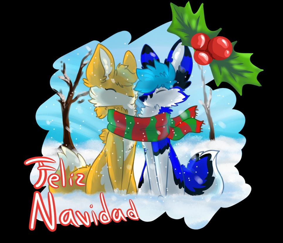 Feliz Navidad Leito c: by bettsabe