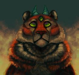TigerDragon by BettRen