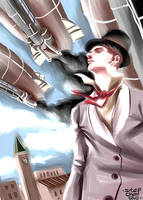 steampunk speedpaint by BigBlow