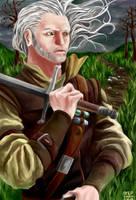 Geralt by BigBlow