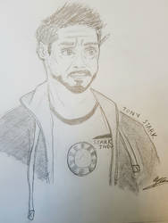 Tony Stark by Sweeneygirl310593