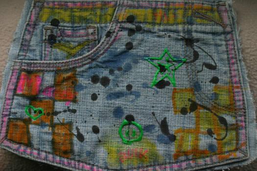 Jean Paint Texture