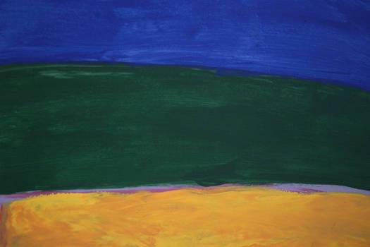 Blue Green Yellow Texture