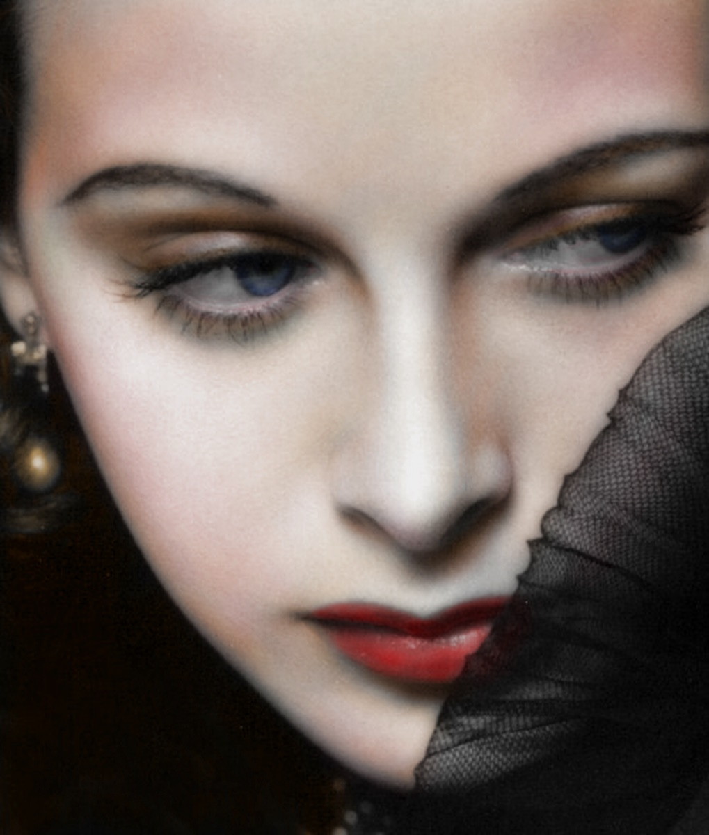 REVISED Hedy Lamar iPad colorization