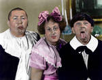 3 Stooges colorized