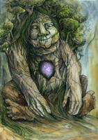 Earth Lady by Gawarin
