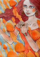 Jellyfish girl by Gawarin