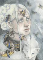 The Grey Moth by Gawarin