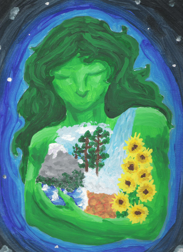 Mother Gaea by Lynn-spirit-Rains