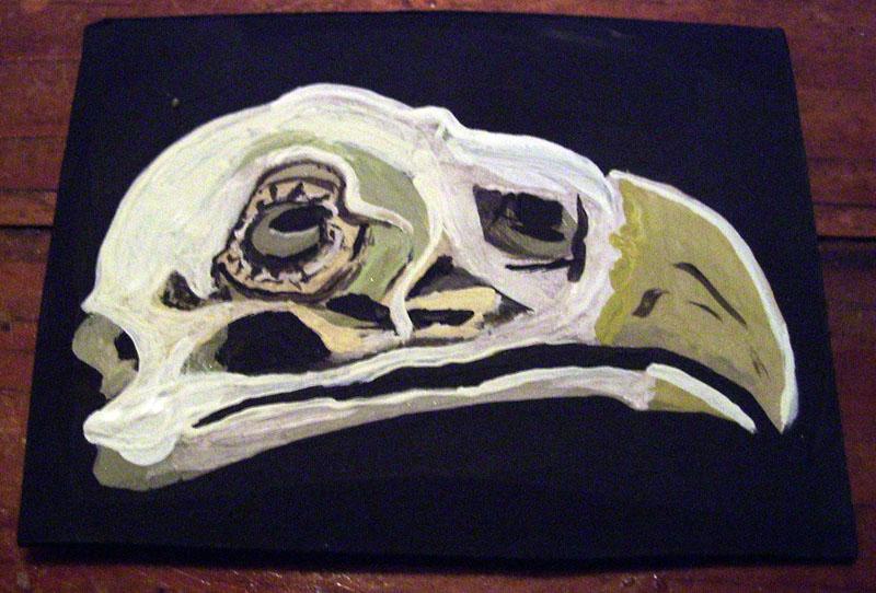 Bird Skull by mintdawn