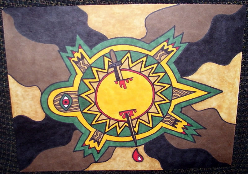 Turtle Sun Sword by mintdawn