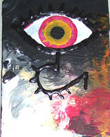 Fire and Eye ACEO by mintdawn