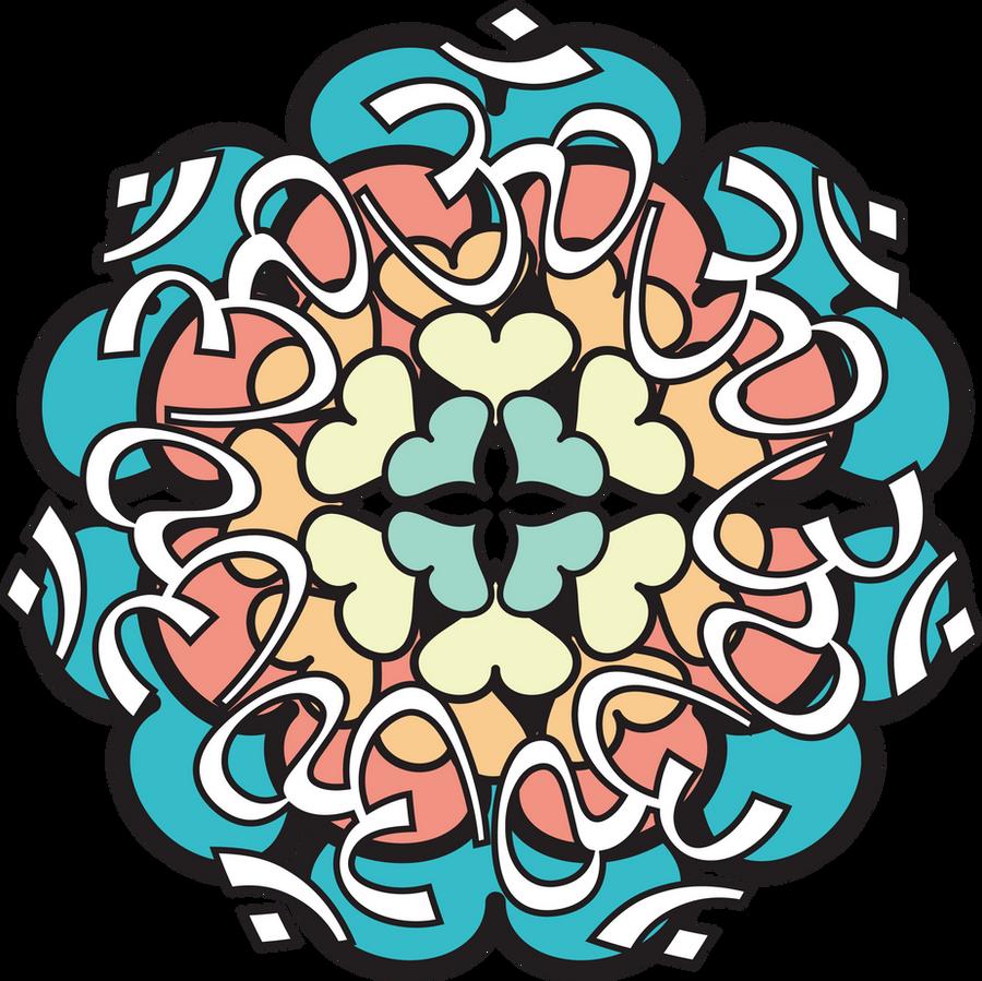 Pastel Mandala by mintdawn