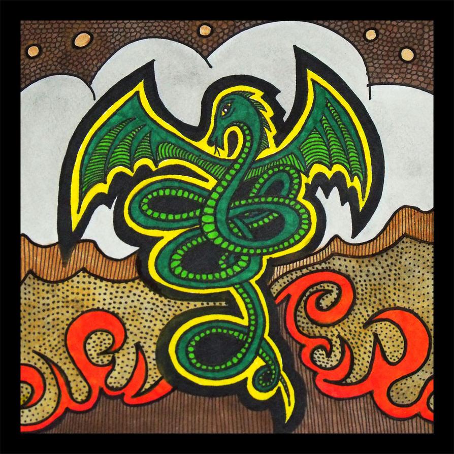 Nidhogg Dragon by mintdawn