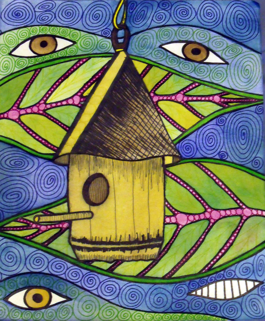 The Birdhouse by mintdawn