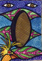 The Birdhouse ACEO by mintdawn