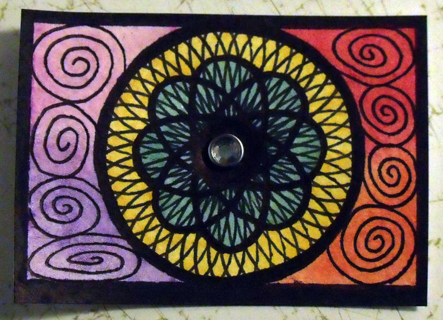 Spirograph ACEO by mintdawn