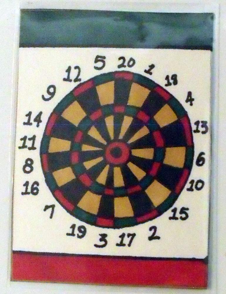 Dart Board ATC by mintdawn