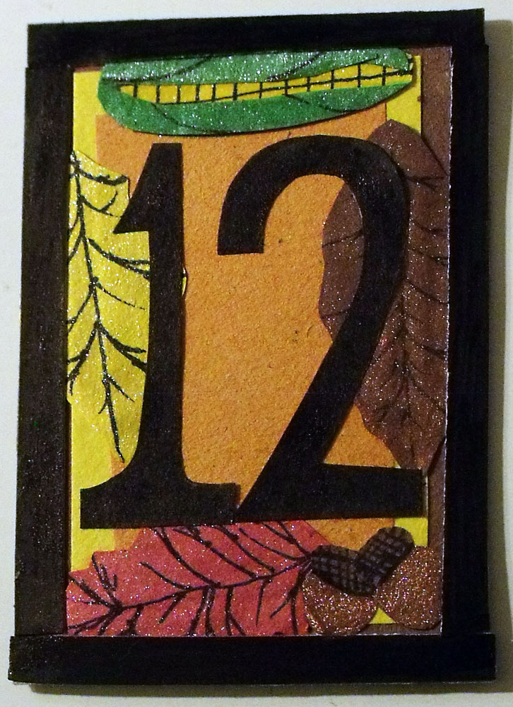 Thanksgiving Countdown ATC by mintdawn