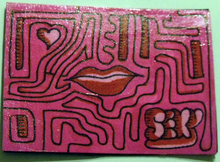 Mazes ATC by mintdawn