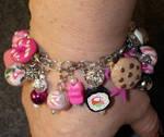 Treats and Sweets Charm Bracelet