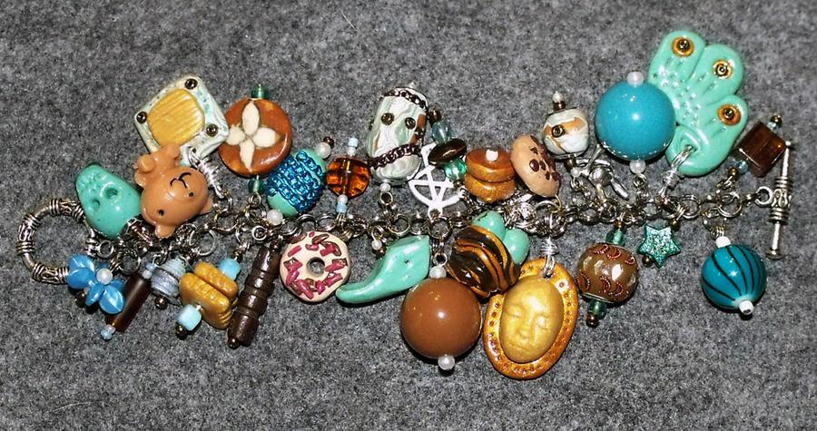 Atlantean Charm Bracelet by mintdawn