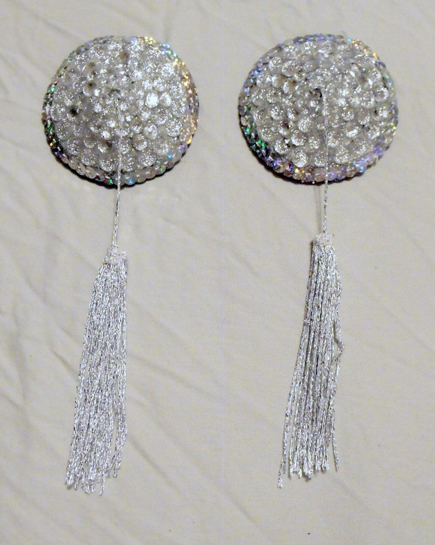 Glitzy Diamond Pasties by mintdawn