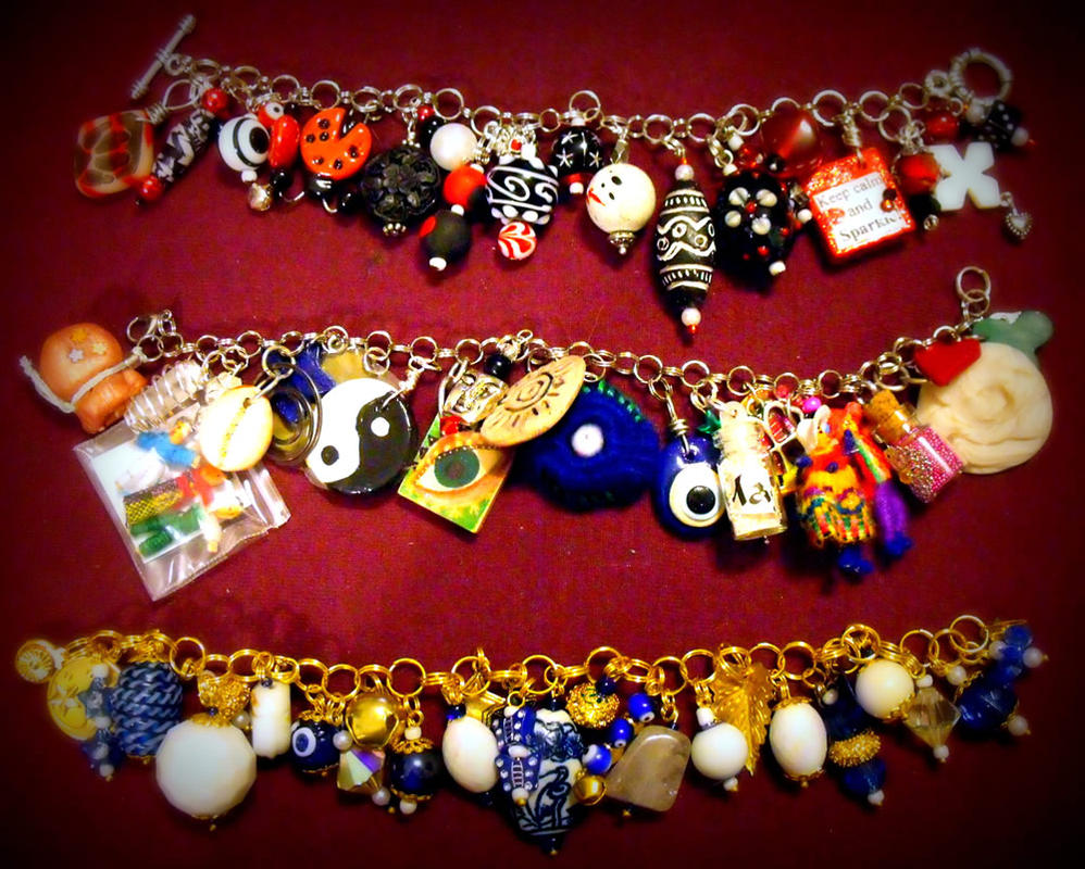 Charm Bracelet Collection 2 by mintdawn