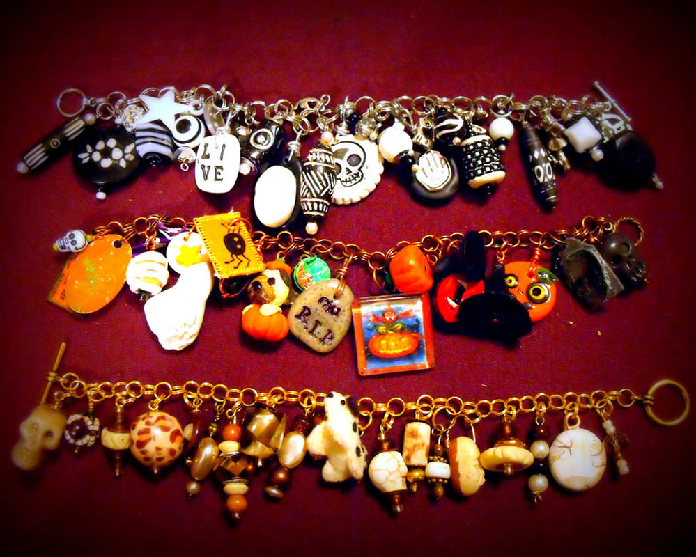 Charm Bracelet Collection 5 by mintdawn