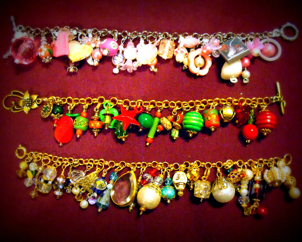 Charm Bracelet Collection 6 by mintdawn