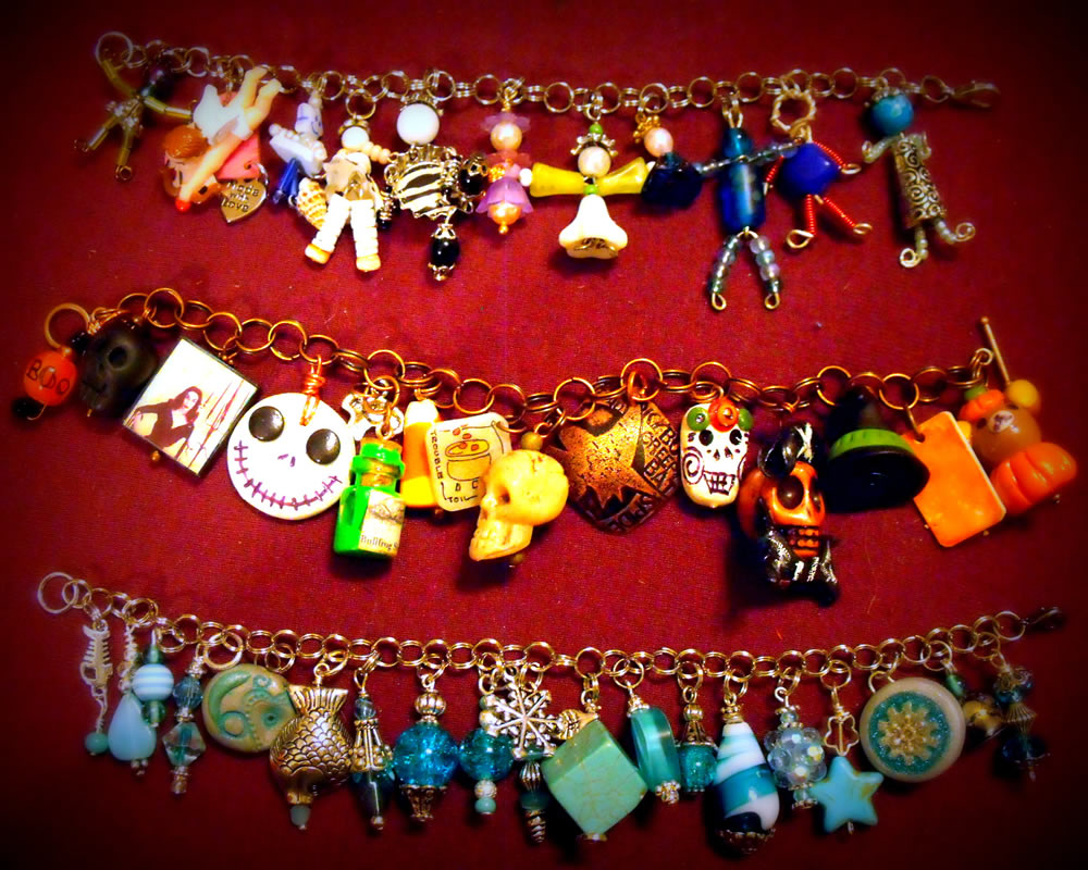 Charm Bracelet Collection 7 by mintdawn