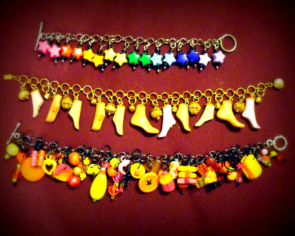 Charm Bracelet Collection 8 by mintdawn