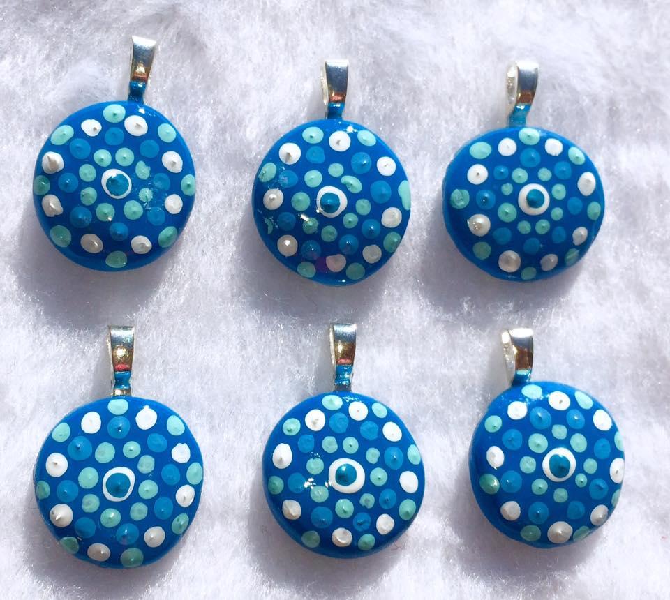 Aqua Charms by mintdawn