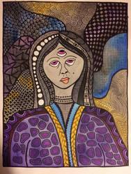Watercolor Goddess