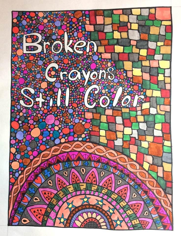 Broken Crayons Still Color by mintdawn