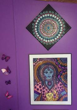 Massage Studio Wall Paintings