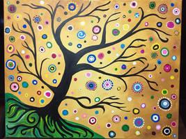 Bohemian abstract tree
