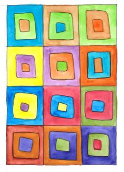 Kandinsky Squares