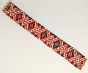 Ribbons Peyote Bracelet