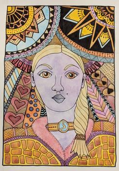 Wheat Haired Goddess