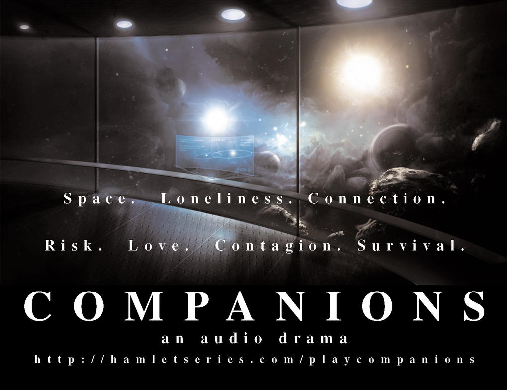 Companions-postcard by hamletseries
