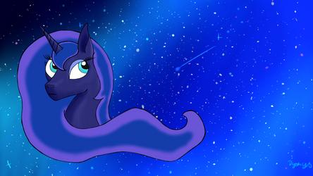 Luna wallpaper by Dyonys97