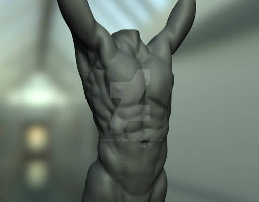 Zbrush Anatomy Study 1